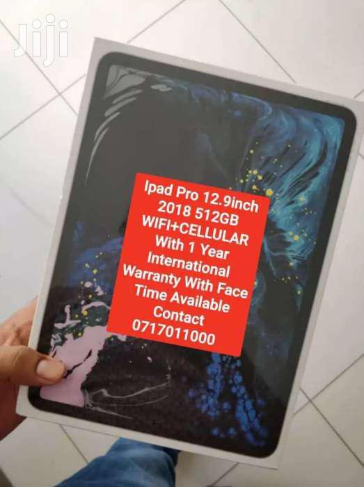 2018 iPad Pro 512GB Wifi+Cellular With 1 Year International Warranty