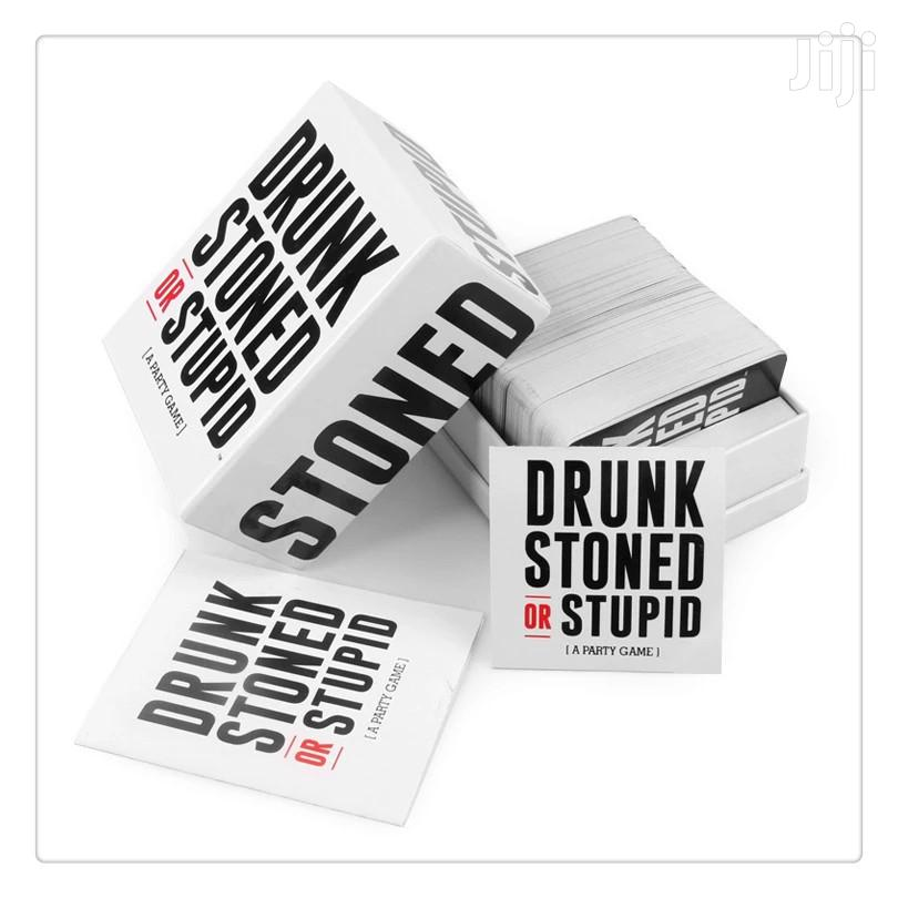 Drunk Stoned or Stupid Party Game | Books & Games for sale in Nairobi Central, Nairobi, Kenya