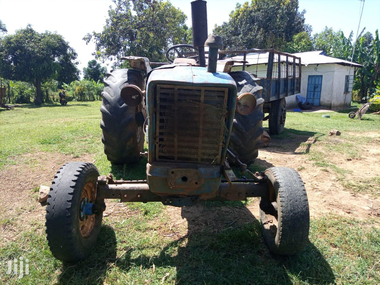 Archive: Tractor Ford 5000 1988 Blue For Sale