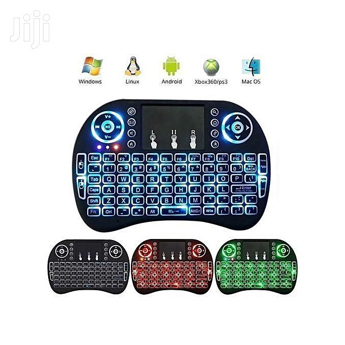 Wireless Mini Keyboard With Mouse Touchpad