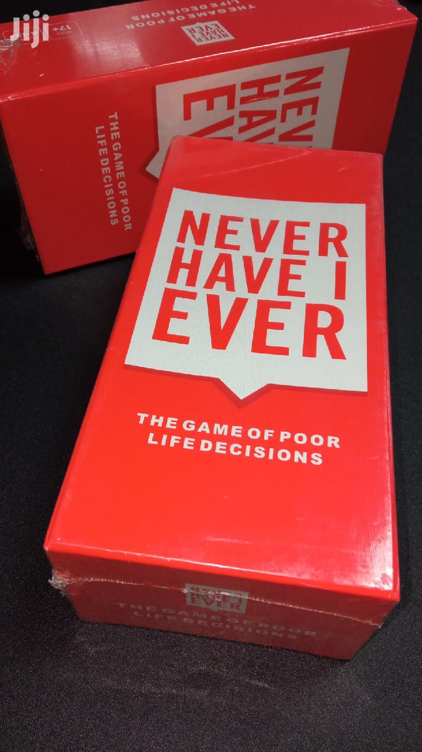 Archive: Never Have I Ever Card Game