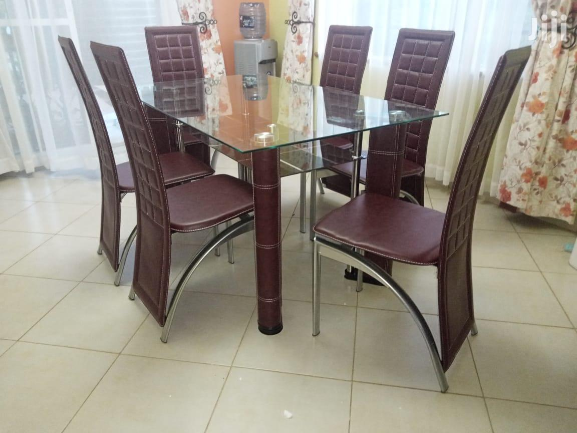 6seats Dining Table | Furniture for sale in Embakasi, Nairobi, Kenya