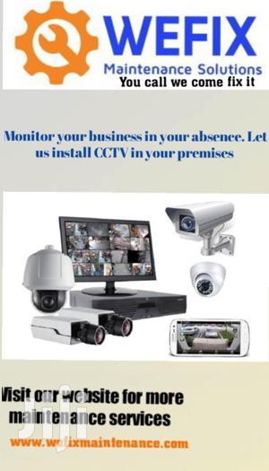 CCTV Camera Installation And Maintenance | Building & Trades Services for sale in Nairobi, Imara Daima