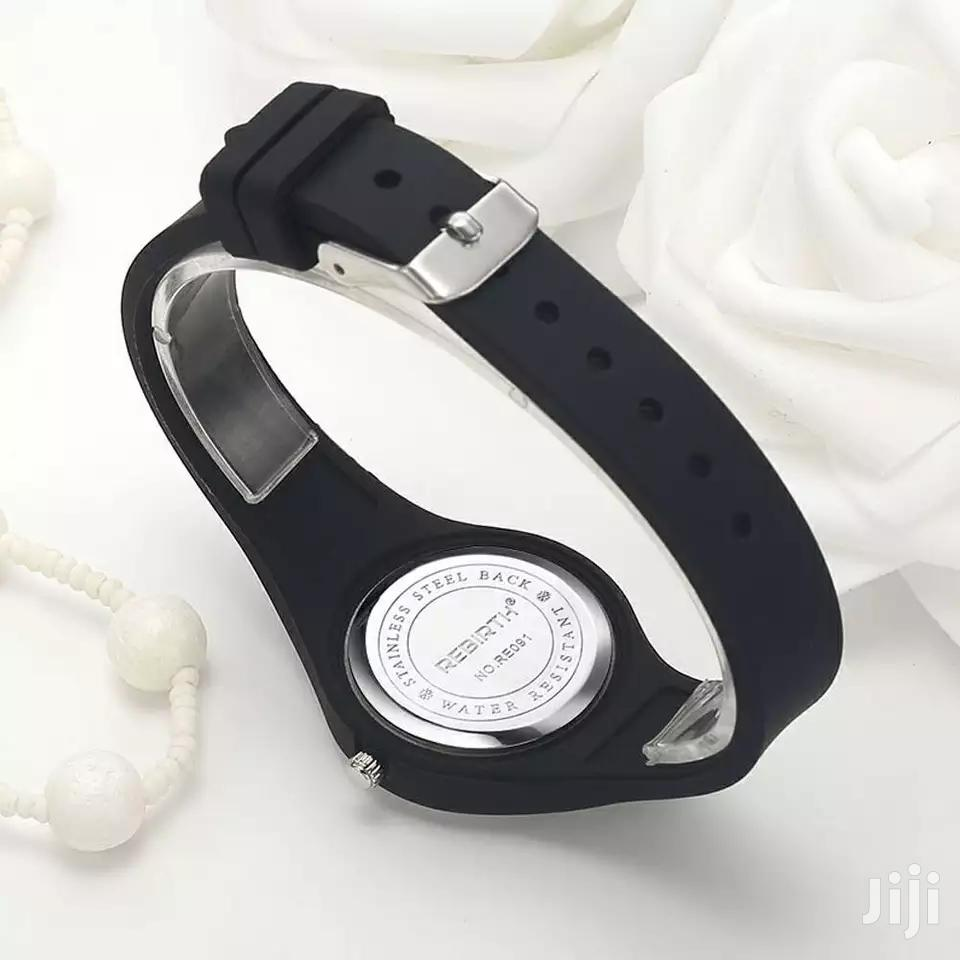 Ladies Rebirth Black Silicon Strap Watch | Watches for sale in Nairobi Central, Nairobi, Kenya