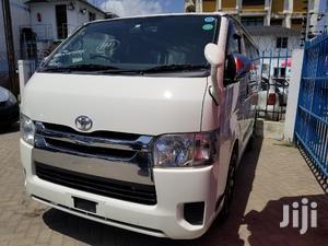 Toyota Hiace 2014 White For Sale | Buses & Microbuses for sale in Mombasa, Mvita