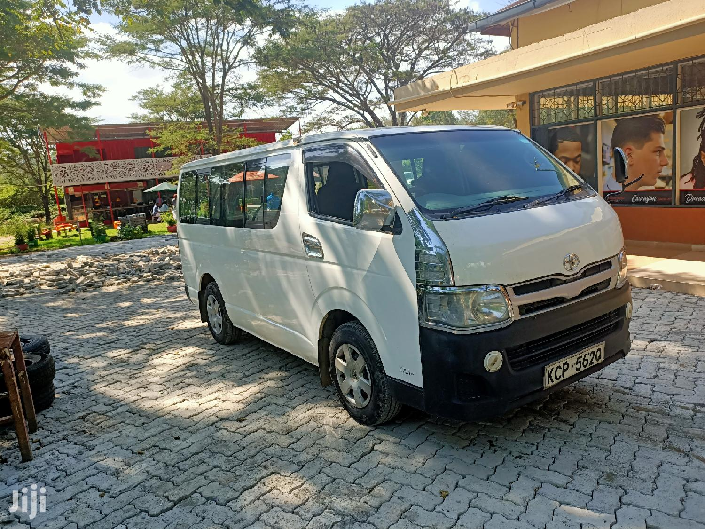 Toyota Hiace Auto Diesel 2010 Super Clean Buy and Drive | Buses & Microbuses for sale in Ridgeways, Nairobi, Kenya