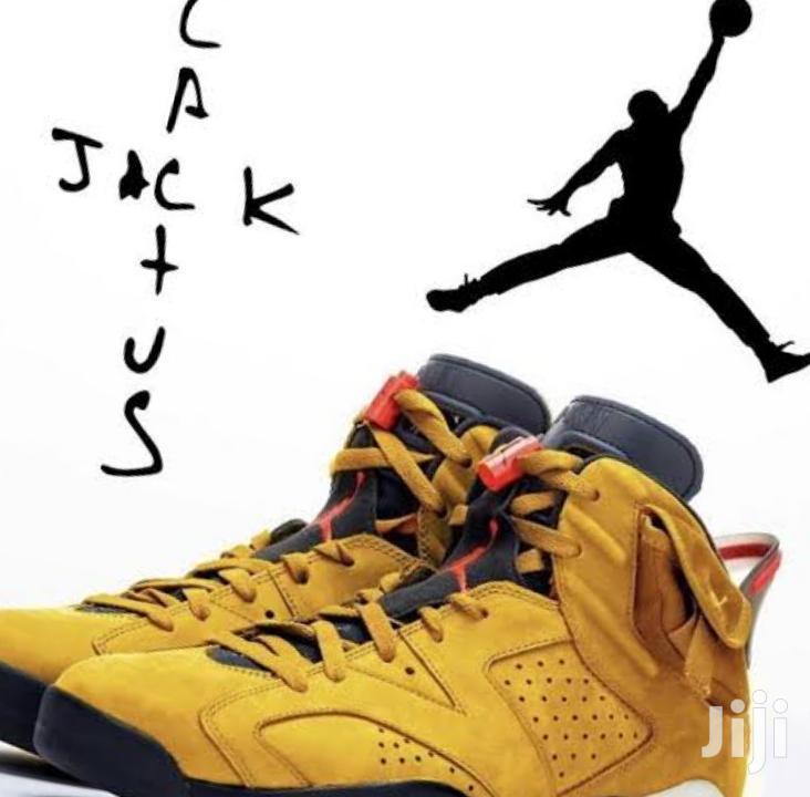 Designer Jordan 6 Cactus Jack Sneakers