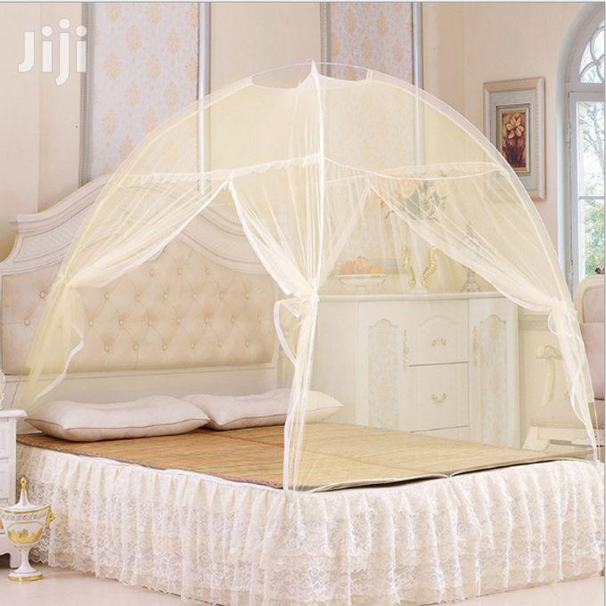 Tent Shaped Mosquito Net-Yellow