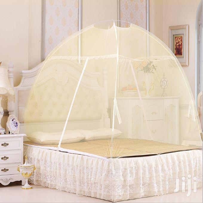 Tent Shaped Mosquito Net-Yellow | Home Accessories for sale in Nairobi Central, Nairobi, Kenya