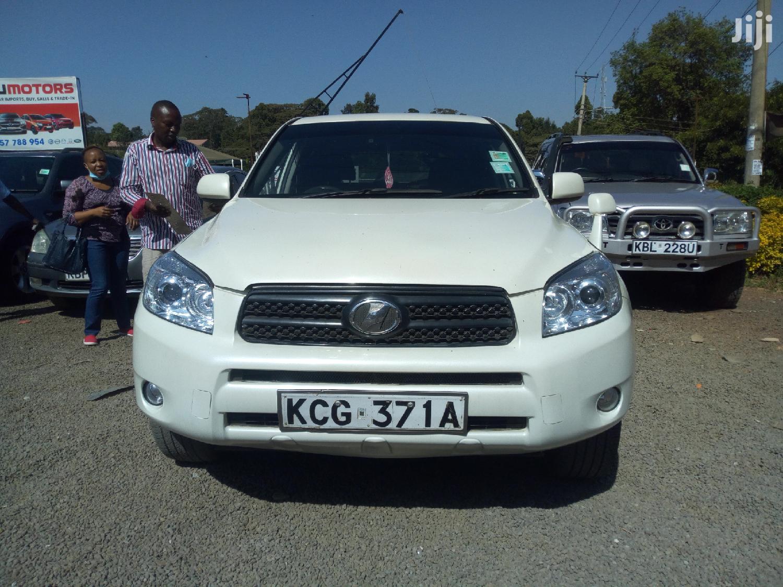 Archive Toyota Rav4 2009 Sport 4x4 White In Nairobi Central Cars James Kihato Jiji Co Ke