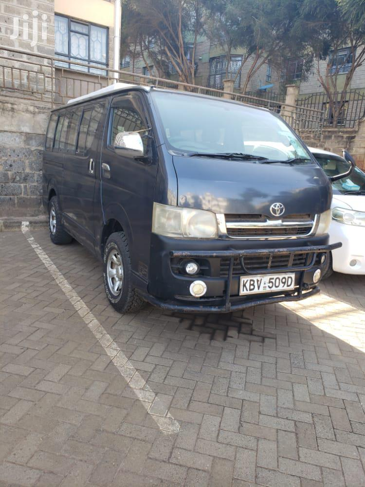 Toyota HMV 2006 Black For Sale