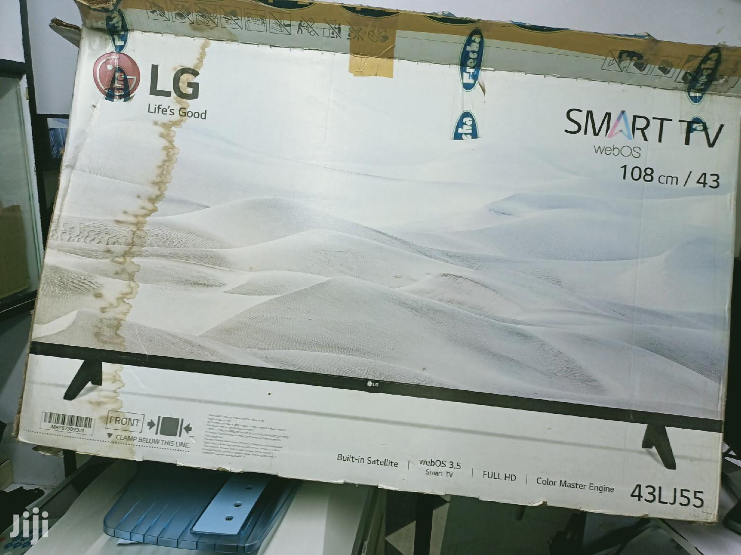 LG 43 Inch Smart TV Clean as New