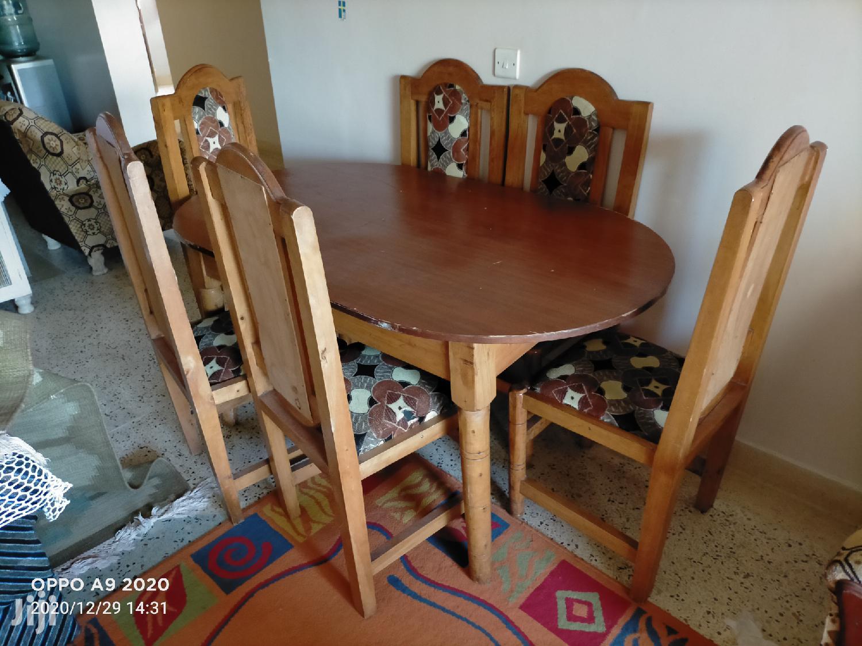 Slightly Used Dining Table With 6 Chairs In Mtwapa Furniture Peter Munyuoki Jiji Co Ke