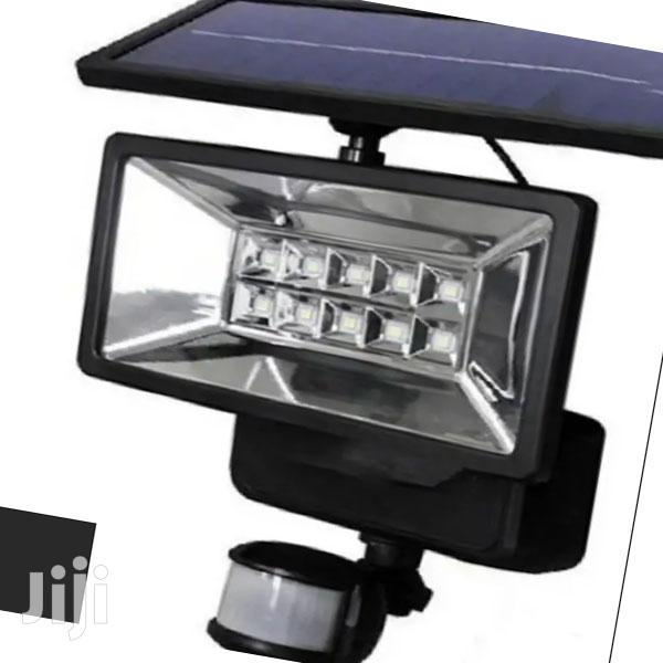 12 LED Solar Security Light With Motion and Night Sensor