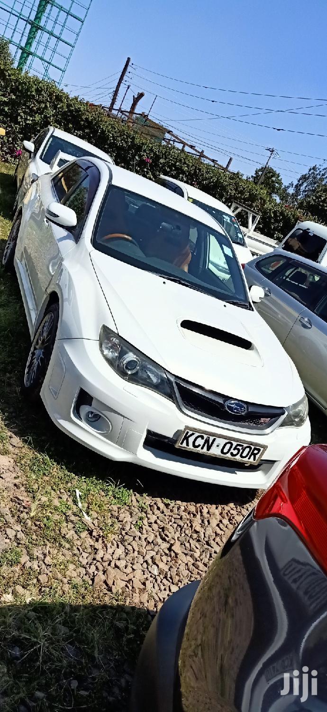 Subaru Impreza 2011 WRX Sedan STI Limited White