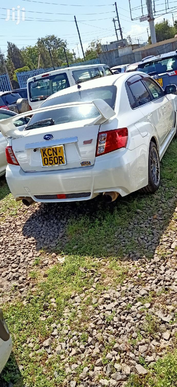 Subaru Impreza 2011 WRX Sedan STI Limited White | Cars for sale in Makadara, Nairobi, Kenya