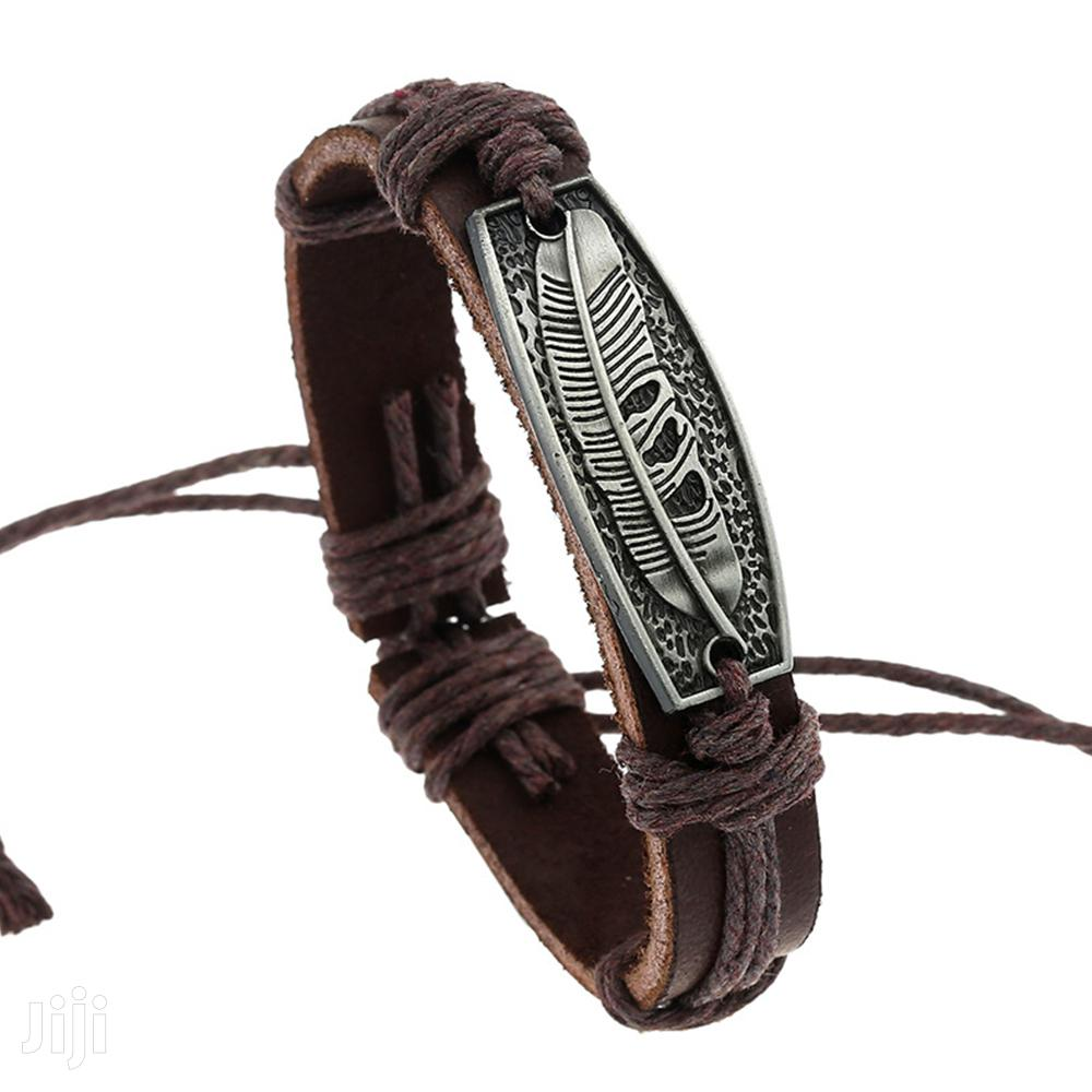 Fashion Leather Bracelet - SQR-4   Jewelry for sale in Nairobi Central, Nairobi, Kenya