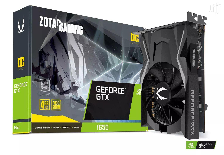 NVIDIA 4GB Geforce GTX 1650 GAMING Graphics Card