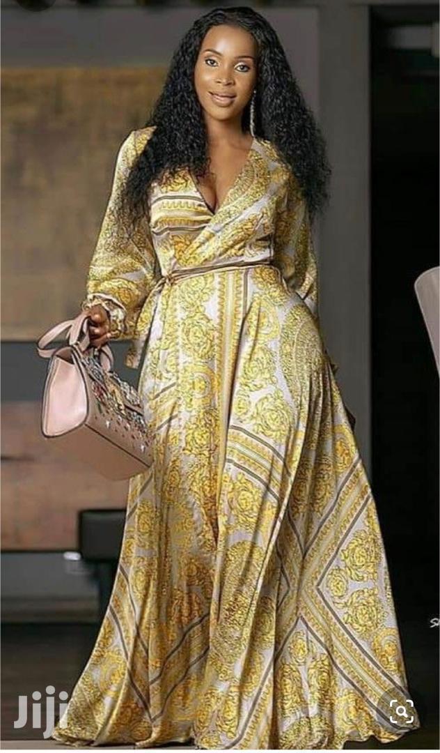 Floral Bustier Long Sleeve Maxi Dress