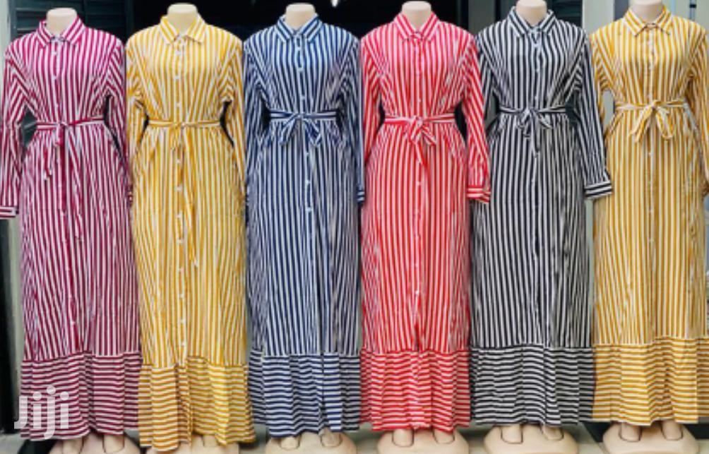 Floral Bustier Long Sleeve Maxi Dress | Clothing for sale in Nairobi Central, Nairobi, Kenya