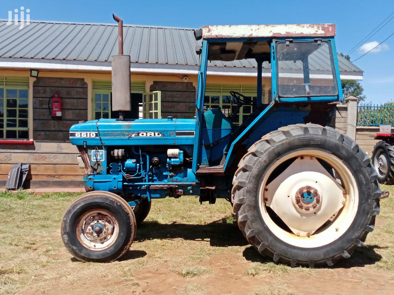 Archive: Ex-europe Ford 6610 Tractor