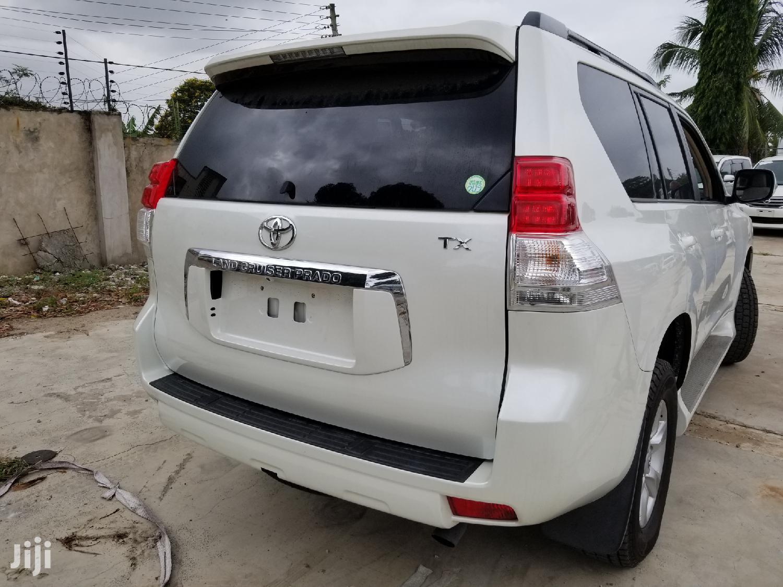 Toyota Land Cruiser Prado 2013 White   Cars for sale in Mvita, Mombasa, Kenya