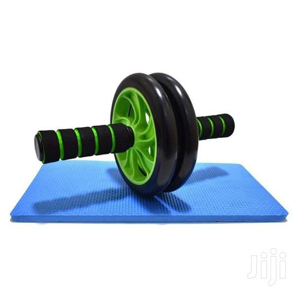 AB Wheel Abs Roller Workout Arm and Waist Fitness Exerciser