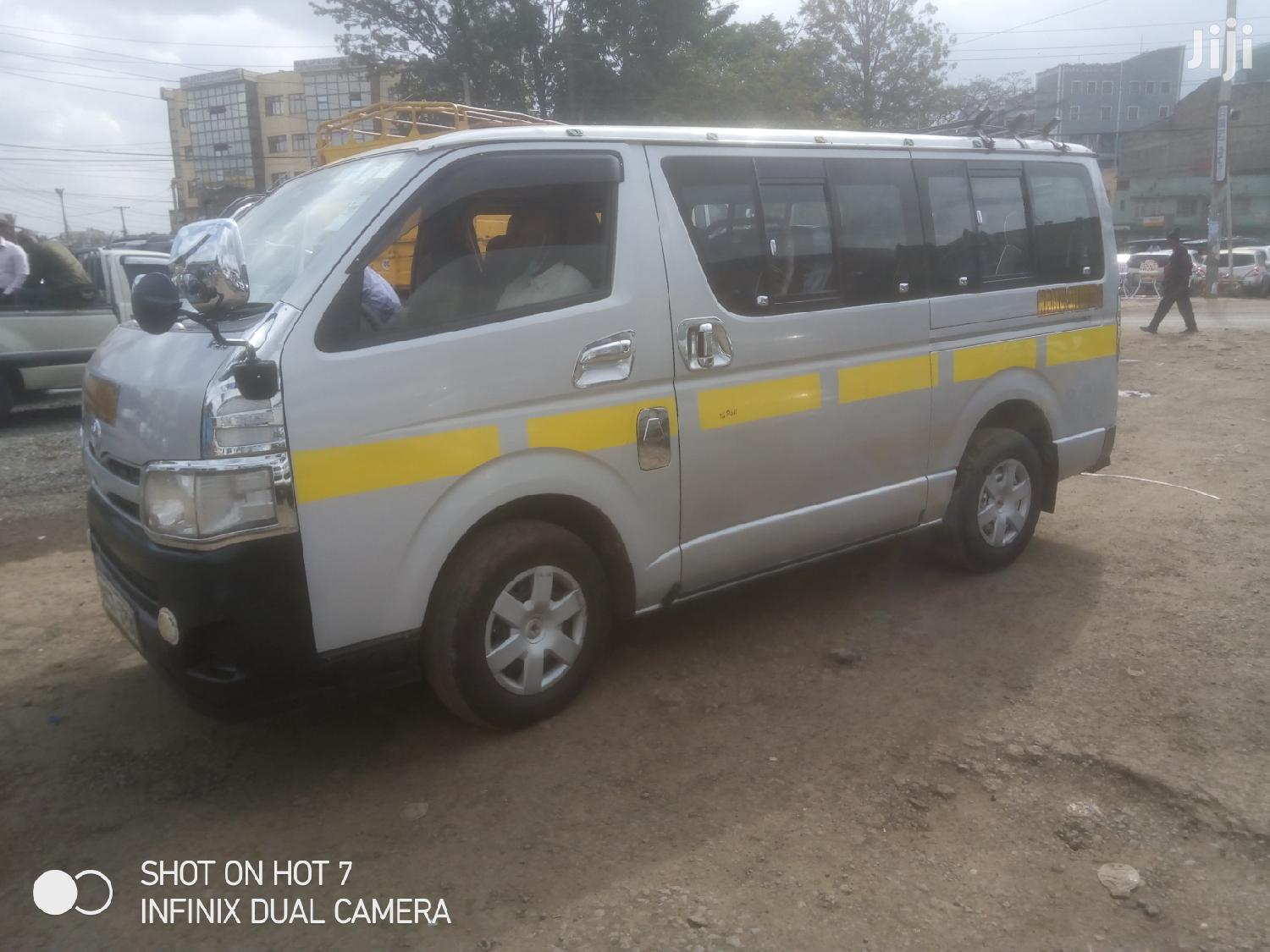 Toyota Box Diesel 14 Seater 2012 Silver For Sale