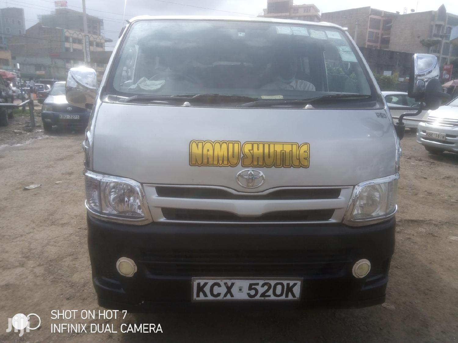 Toyota Box Diesel 14 Seater 2012 Silver For Sale | Buses & Microbuses for sale in Pangani, Nairobi, Kenya