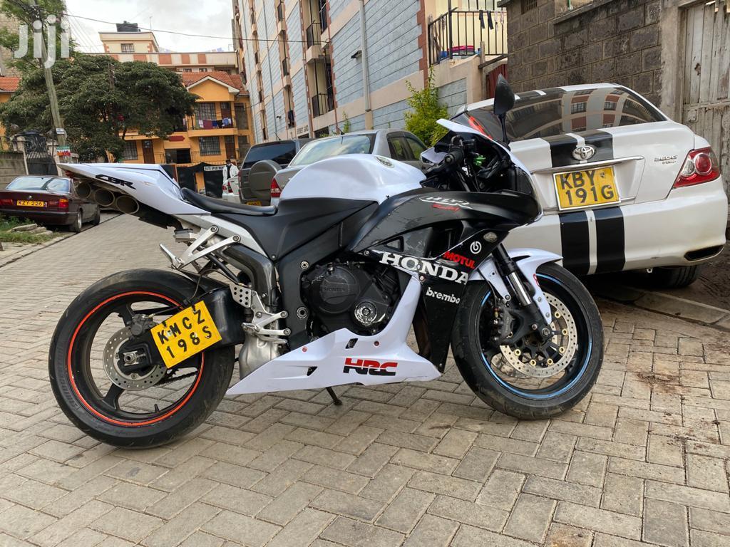 Honda CBR 2012 White