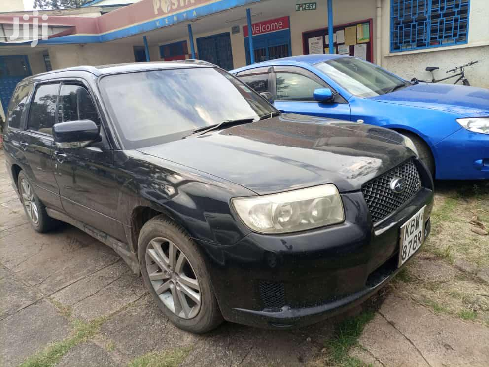 Subaru Forester 2007 Black | Cars for sale in Township C, Kiambu, Kenya