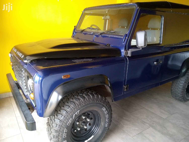 Land Rover Defender 2012 Blue