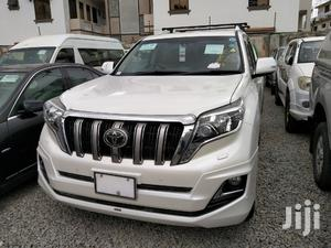 Toyota Land Cruiser Prado 2015 White | Cars for sale in Nyali, Ziwa la Ngombe