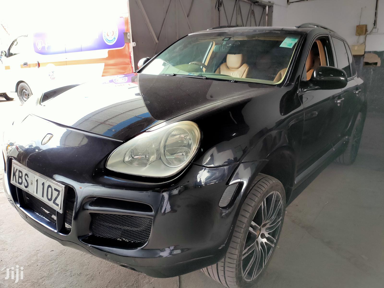 Porsche Cayenne 2005 Black