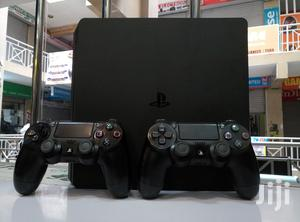 Ps4 Slim Ex UK 500gb With 2 Controllers in Mint Condition   Video Game Consoles for sale in Nairobi, Nairobi Central