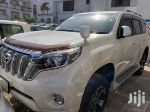 Toyota Land Cruiser Prado 2015 White | Cars for sale in Mvita, Majengo