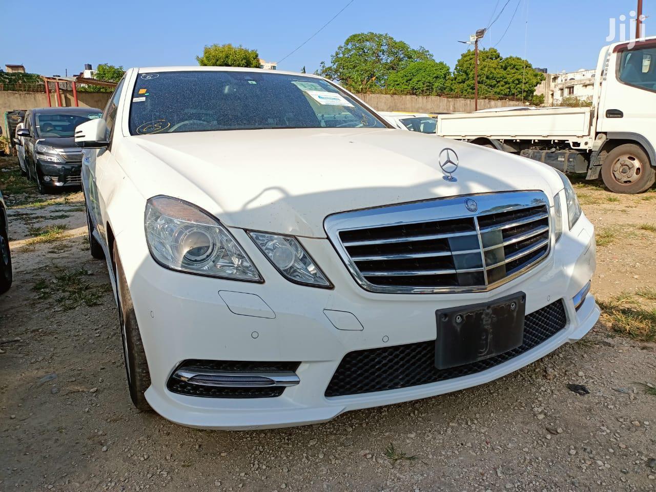 Mercedes-Benz E250 2013 White   Cars for sale in Mvita, Mombasa, Kenya