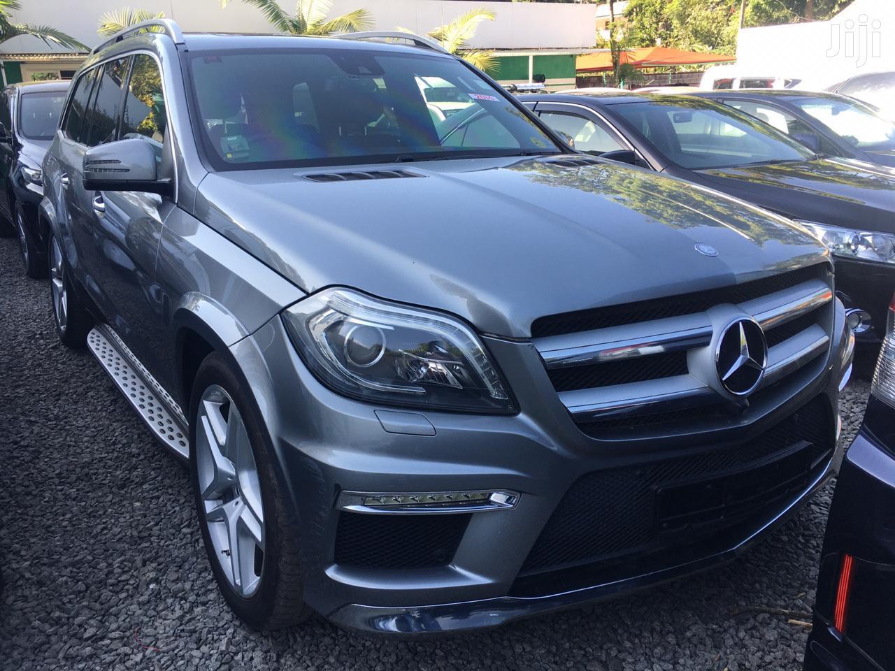 Mercedes-Benz GL Class 2014 Gray