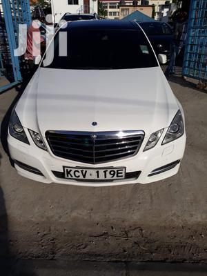 Mercedes-Benz E350 2013 White   Cars for sale in Mombasa, Tudor