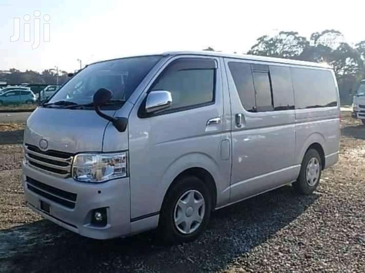 Toyota HiAce 2013 Silver   Buses & Microbuses for sale in Ziwa la Ngombe, Nyali, Kenya