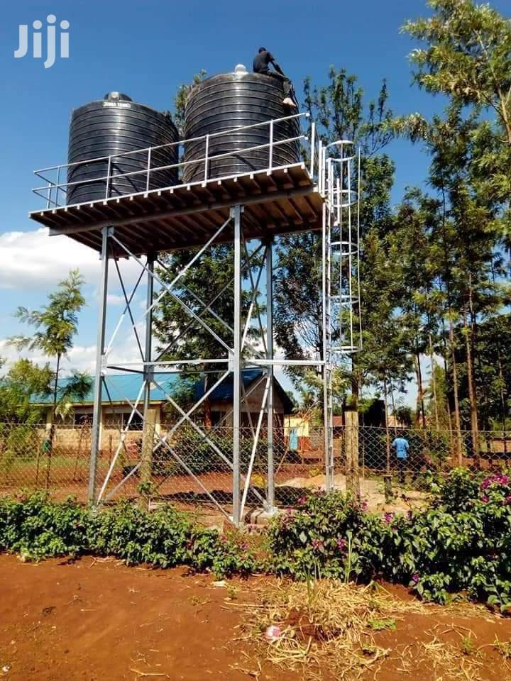 Durable Tank Water Tower Construction