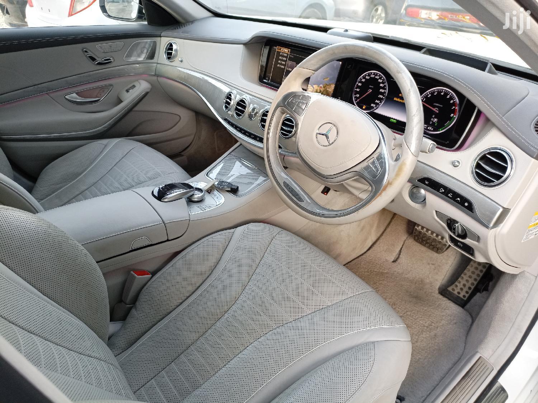 Mercedes-Benz S Class 2015 White | Cars for sale in Ziwa la Ngombe, Nyali, Kenya