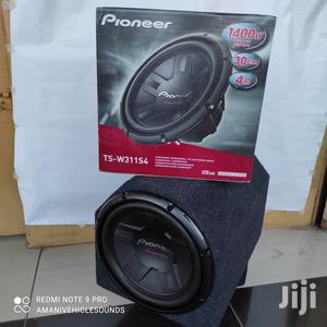 """PIONEER Single Coil TS-W311S4 12""""1400w 12""""Basstube Cabinet. 