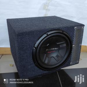 """Pioneer Ts-w311s4 Double Coil Sub With 12"""" Slotted Cabinet 