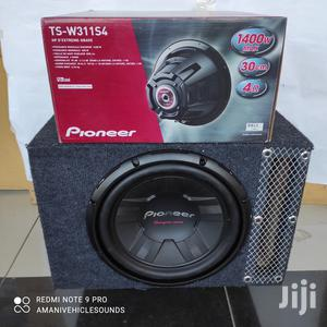 """Pioneer Single Coil Ts-W311s4 12""""Slotted Cabinet. 