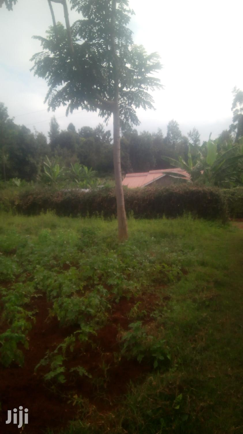 Archive: A 4bedroom House Nyeri on 1/2 Acre