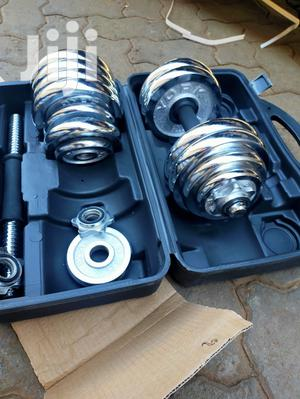30 Kg Dumbell Set Adjustable Heavy Duty With Briefcase Porta | Sports Equipment for sale in Nairobi, Nairobi Central