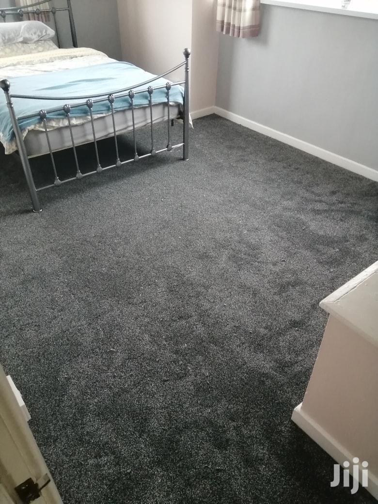 Grey Wall to Wall Carpet