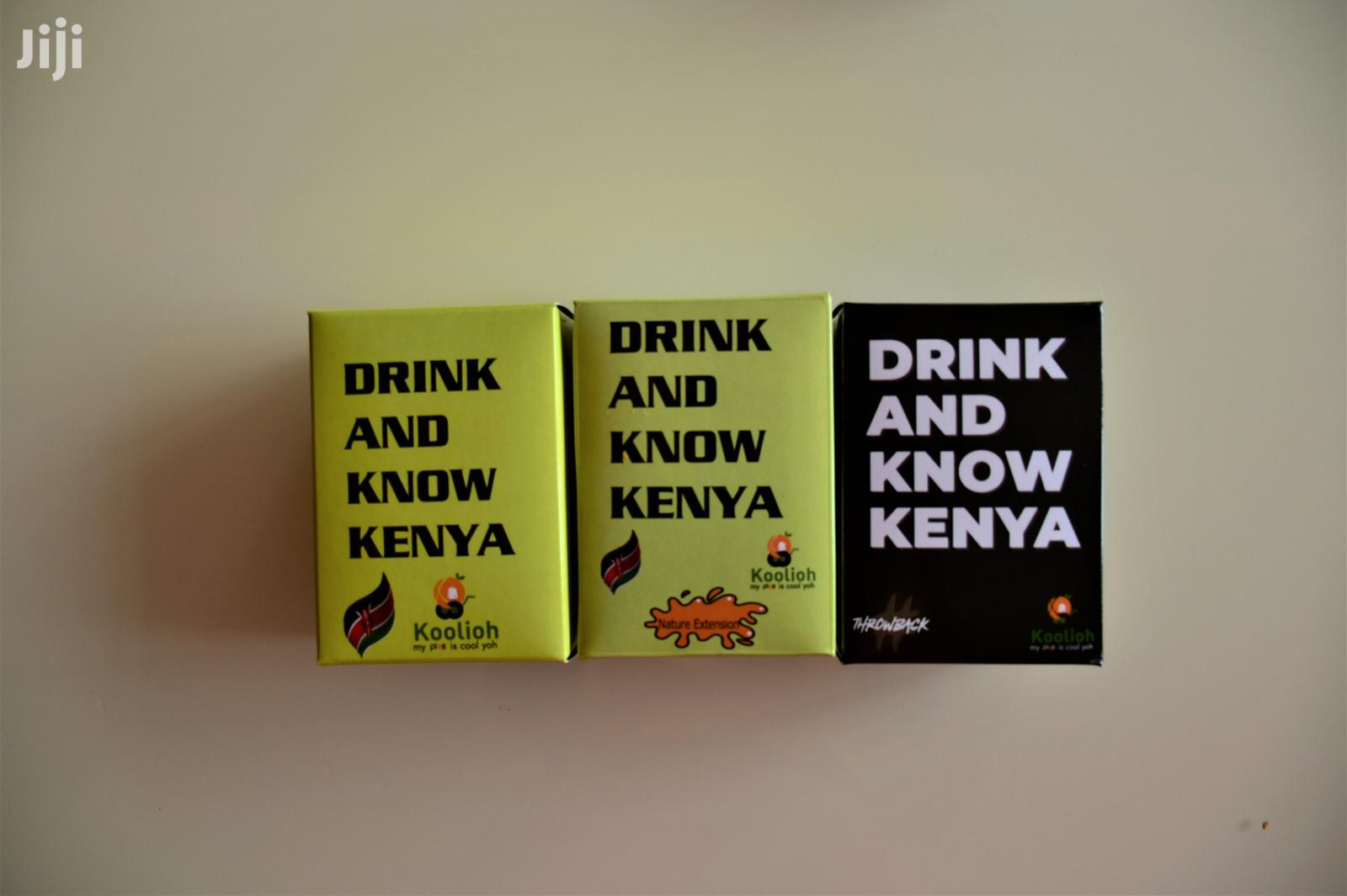 Archive: Drink and Know Kenya Party Set