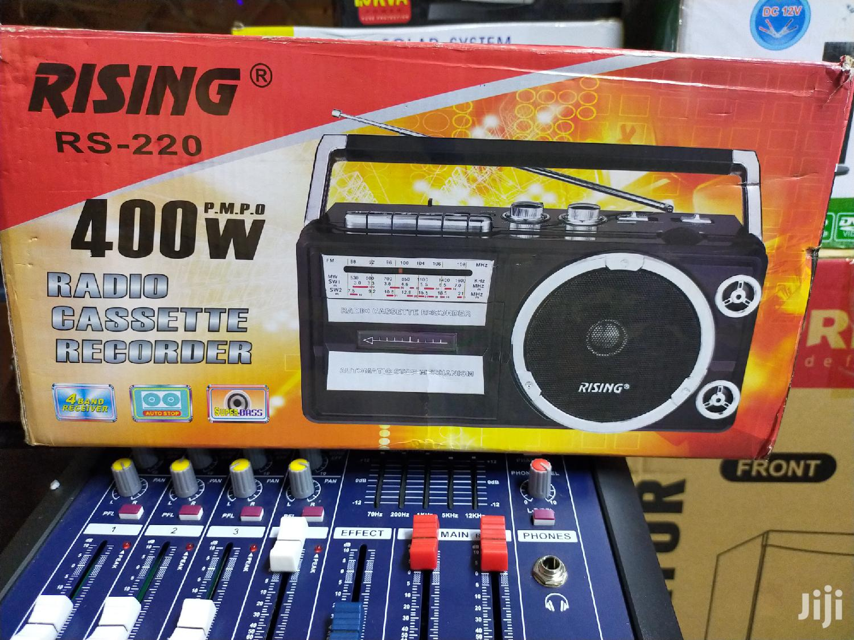 Rising Radio Cassette Recorder   Audio & Music Equipment for sale in Kisii CBD, Kisii, Kenya